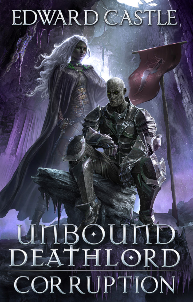Cover for Unbound Deathlord: Corruption